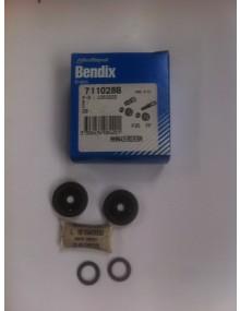 Nécessaire de réparation pour un cylindre de frein arrière LHM, 2 CV 17.5mm avec joint torique Bendix