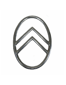 Ovale de calandre 2 cv fixation par rivets ou vis Livraison offerte en France continentale