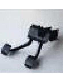 Pédalier 2cv Dyane Méhari possibilité de monter une pédale d'accélérateur