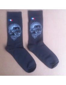 Paire de chaussettes hommes 43/46 Dyane grise