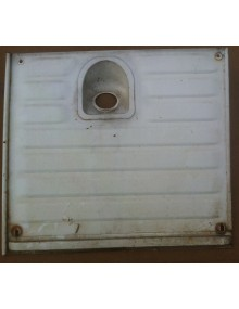 Panneau de réservoir Acadiane occasion blanc avec travaux ( voir photos)