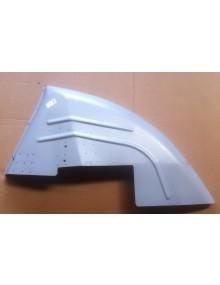 Passage de roue arrière droit  2cv nouveau modèle avec renfort de ceinture et support de butée