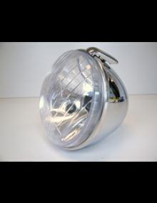 Phare complet avec cuvelage chromé 2CV CE