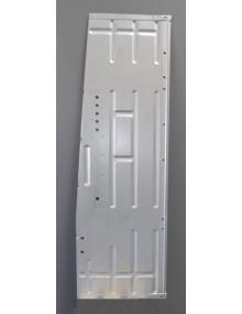 Plancher latéral gauche électrozingué 2cv, avant 1970 , copie de l'origine