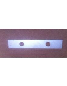 Plaquette de de fixation de la poignée de capote sur la capote