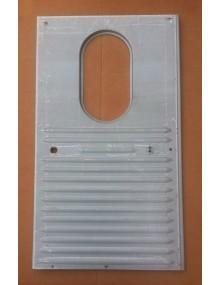 Porte arrière droite  pour 2 CV AU et AZU montage hublot ovale