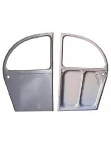 Porte arrière droite 2cv avant 1964 électrozinguée livraison offerte en France continentale