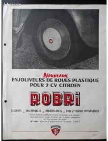 Enjoliveurs de roues plastique pour 2cv par Robri