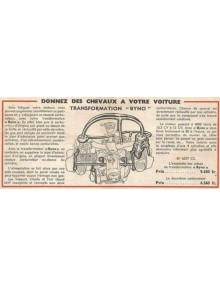 Tubulure Byno pour 2cv