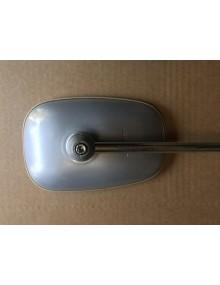 Rétroviseur gauche 2cv fourgonnette Acadiane corps en métal gris