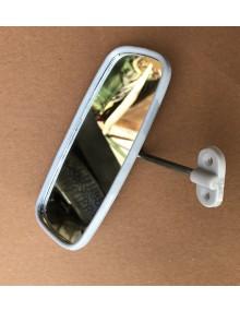 Rétroviseur intérieur gris 2CV adaptable