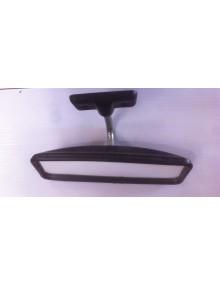 Retroviseur intérieur origine noir 2cv Dyane Méhari avec fixation en plastique noir
