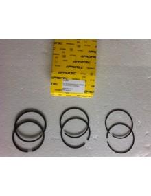 Jeu de segments Visa 652 cm3 diamètre 77mm, 1.75/2/4  pour chemises aluminium traitées au Nickasil