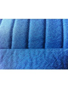 Garniture de sièges avant gauche et droit pour Ami 8 en tissu diamanté bleu avec vide poche latéral sur commande