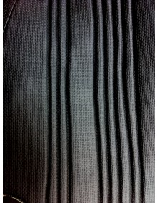 Garniture de banquette avant Ami 8 en targa noir