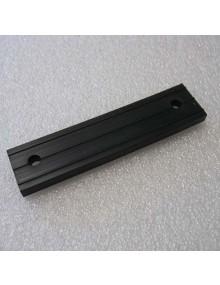 Support caoutchouc long de tube de sortie d'échappement 2cv comme à l'origine 12.6 cm