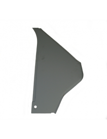 Triangle avant droit électrozingué, 2CV entre aile et porte de la 2cv